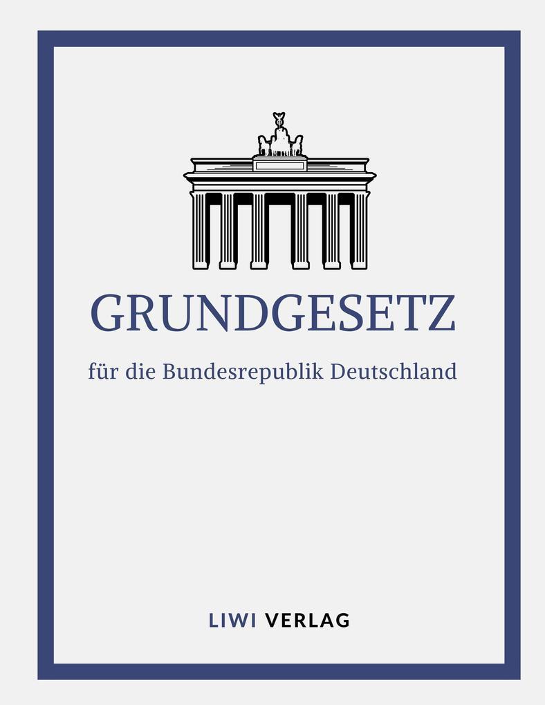 Grundgesetz für die Bundesrepublik Deutschland 2019