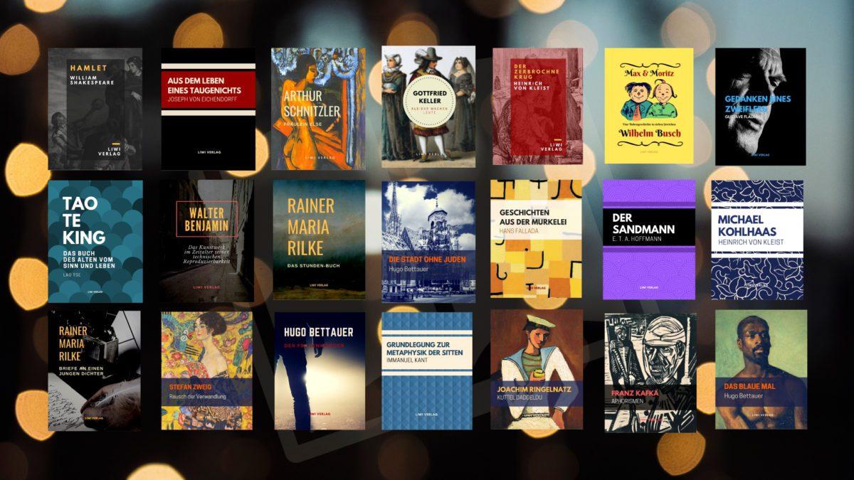 Buchgestaltung Buchdesign Buchcover Liwi Verlag