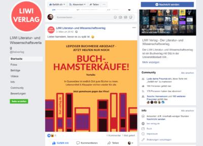 Social Media LIWI Verlag Facebook