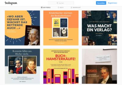 Instagram-Profil LIWI Verlag
