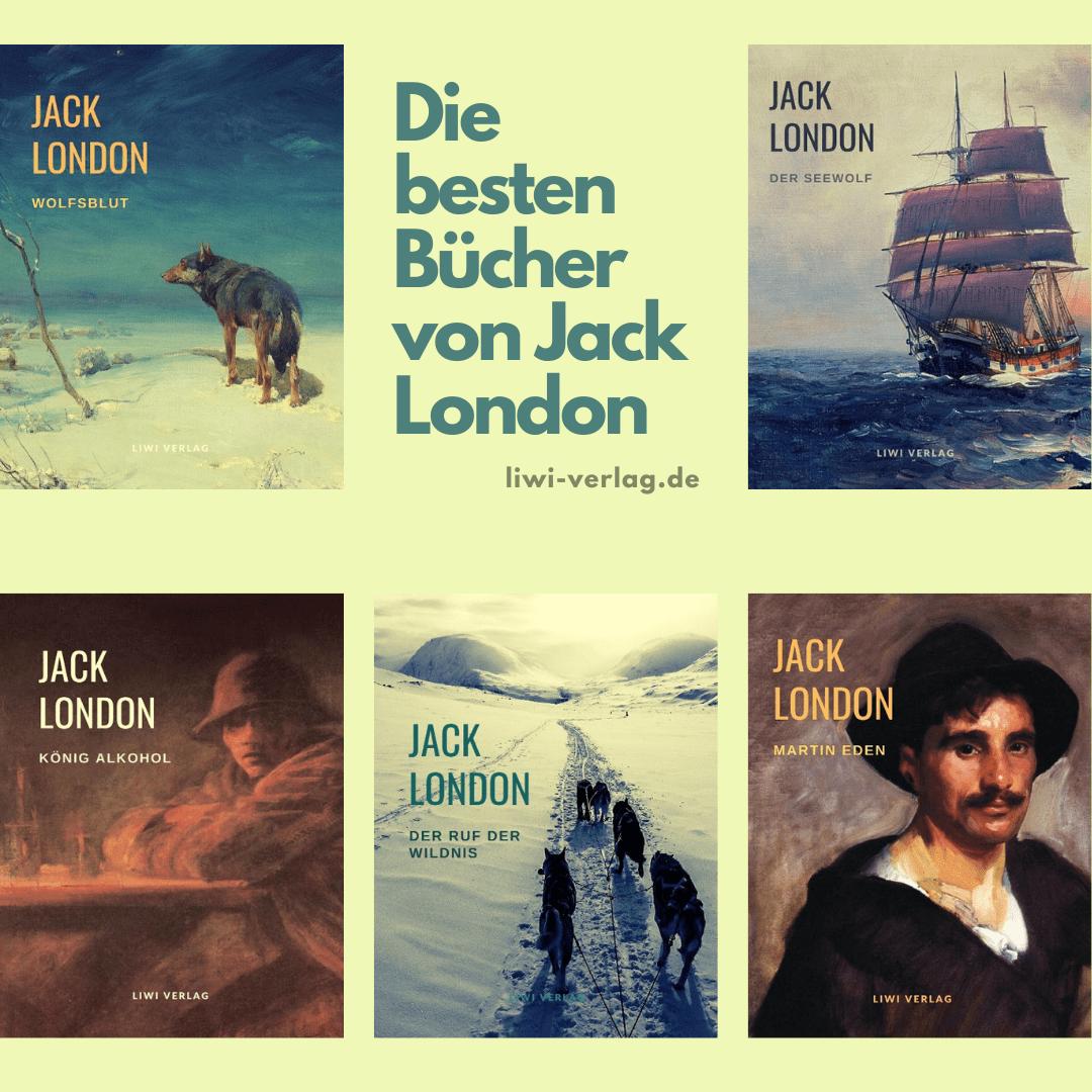 Die besten Bücher von Jack London