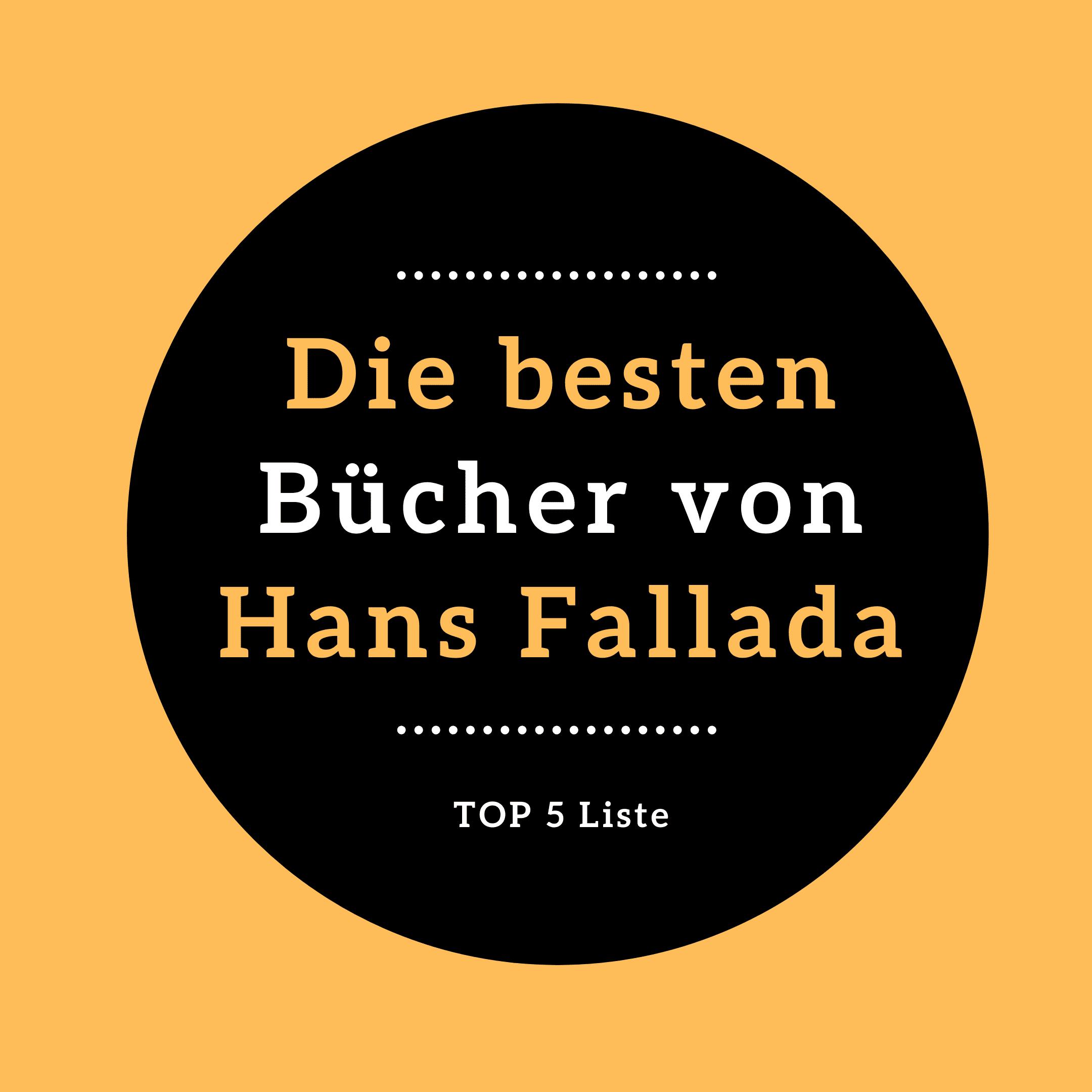 Die besten Bücher Hans Fallada LIWI Verlag