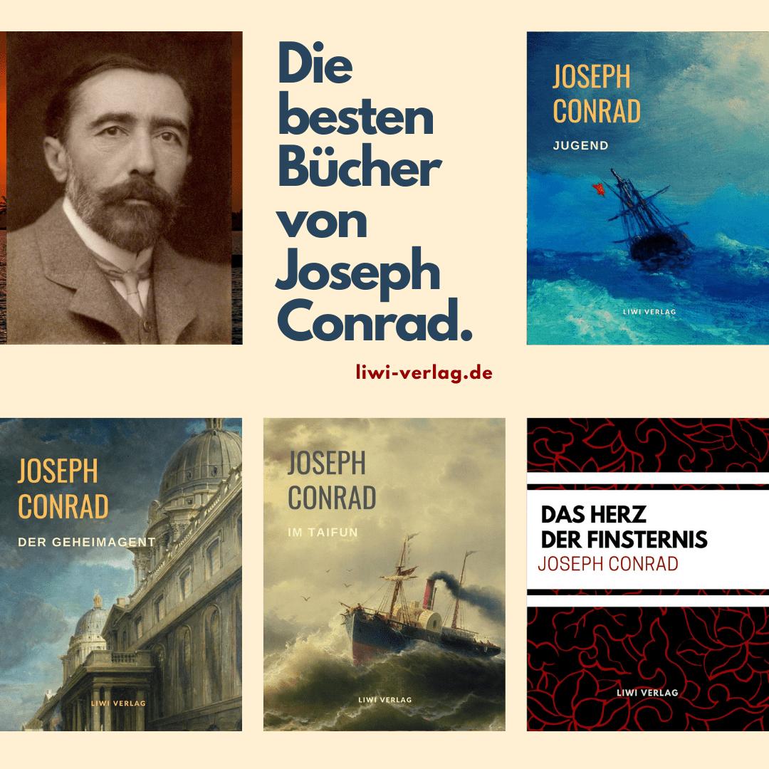 Die besten Bücher von Joseph Conrad