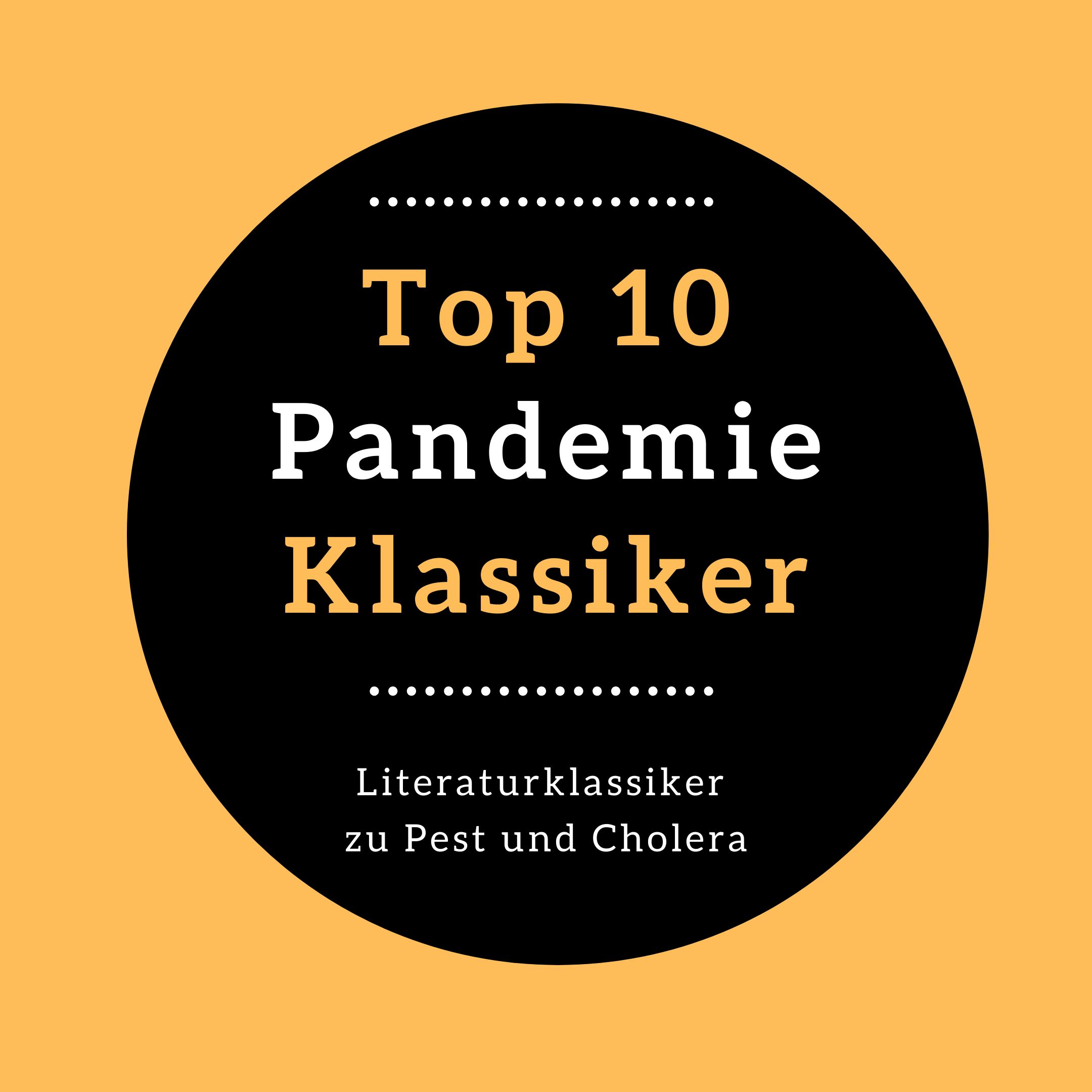 Corona Pandemie Klassiker Pest Cholera Quarantäne